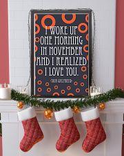 NOVEMBER- I WOKE UP ONE MORNING 16x24 Poster lifestyle-holiday-poster-4