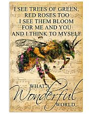 Bee - Wonderful World Poster SKY 11x17 Poster front