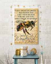 Bee - Wonderful World Poster SKY 11x17 Poster lifestyle-holiday-poster-3