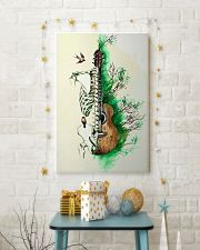 Guitar Art Skeleton Poster 11x17 Poster lifestyle-holiday-poster-3