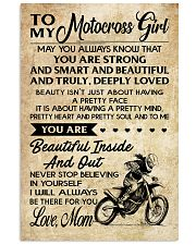 TO MY Motocross Girl 11x17 Poster front