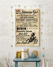 TO MY Motocross Girl 11x17 Poster lifestyle-holiday-poster-3