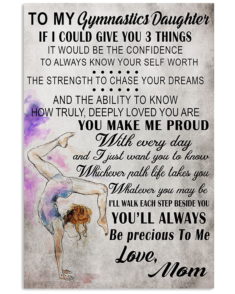 8 I COULD GIVE YOU gymnastics 16x24 Poster
