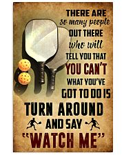 PICKLEBALL - THERE ARE SO MANY PEOPLE POSTER SKY 11x17 Poster front