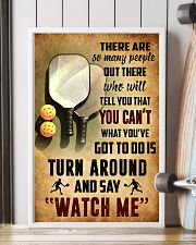 PICKLEBALL - THERE ARE SO MANY PEOPLE POSTER SKY 11x17 Poster lifestyle-poster-4