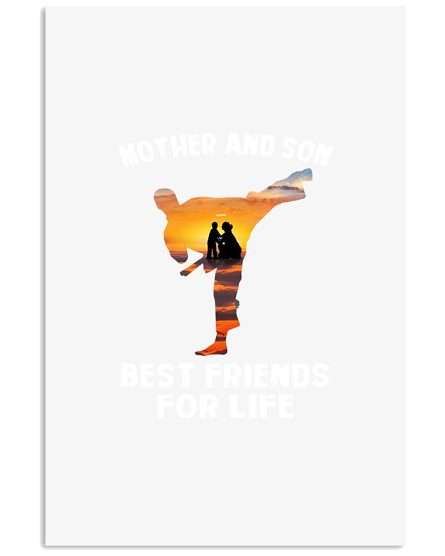 TAEKWONDO MOTHER AND SON BEST FRIENDS 11x17 Poster