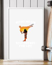 TAEKWONDO MOTHER AND SON BEST FRIENDS 11x17 Poster lifestyle-poster-4