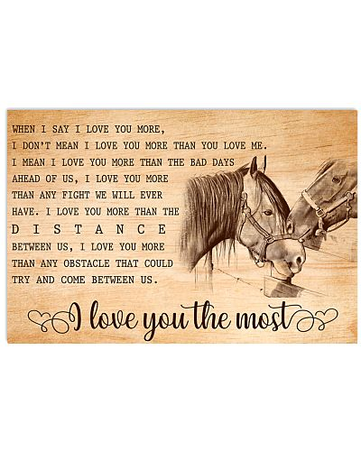 HORSE - I LOVE YOU THE MOST