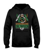 SHENANIGANS THE TRIFECTA OF LIFE Hooded Sweatshirt thumbnail