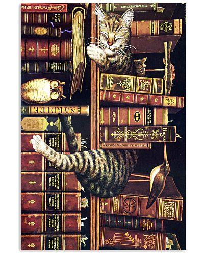 5 CAT BOOKS POSTER
