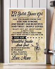 2-TO MY BALLET DANCE GIRL- MOM KD 16x24 Poster lifestyle-poster-4