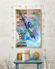 8SWIMMING- TODAY IS A GOOD DAY POSTER- boy kd 11x17 Poster lifestyle-holiday-poster-3
