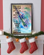 8SWIMMING- TODAY IS A GOOD DAY POSTER- boy kd 11x17 Poster lifestyle-holiday-poster-4