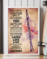 CLARINET - TODAY IS A GOOD DAY POSTER 11x17 Poster lifestyle-poster-4