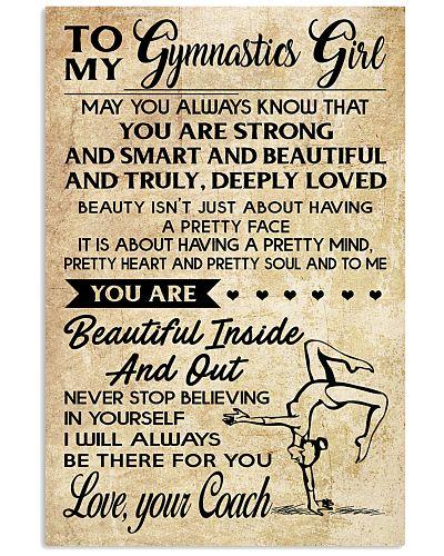 11 TO MY  Gymnastics Girl - your Coach