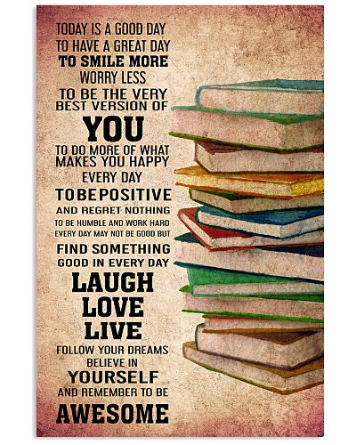 BOOKS - TODAY IS A GOOD DAY POSTER