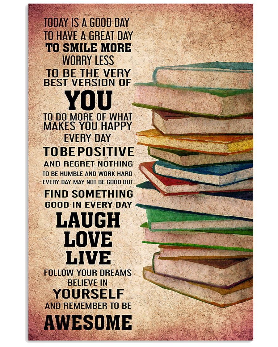 BOOKS - TODAY IS A GOOD DAY POSTER 11x17 Poster