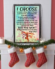 I CHOOSE TO LIVE BY CHOICE gymnastics 11x17 Poster lifestyle-holiday-poster-4