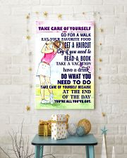 1 - Take care of yourself - GOLF 11x17 Poster lifestyle-holiday-poster-3