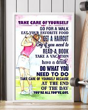 1 - Take care of yourself - GOLF 11x17 Poster lifestyle-poster-4