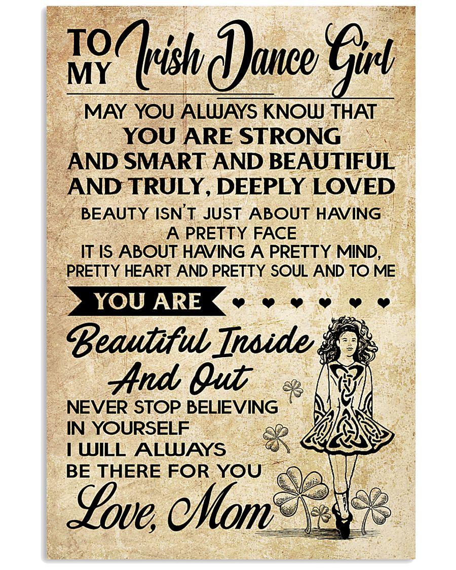 TO MY Irish Dance Girl 11x17 Poster