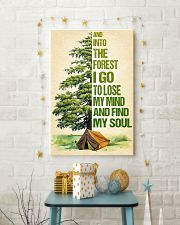 Camping - And into the forest SKY 11x17 Poster lifestyle-holiday-poster-3