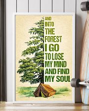 Camping - And into the forest SKY 11x17 Poster lifestyle-poster-4
