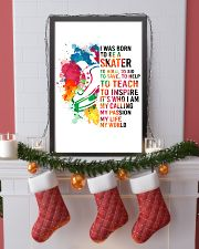 7-hockey skate- I WAS BORN KD 16x24 Poster lifestyle-holiday-poster-4