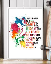 7-hockey skate- I WAS BORN KD 16x24 Poster lifestyle-poster-4