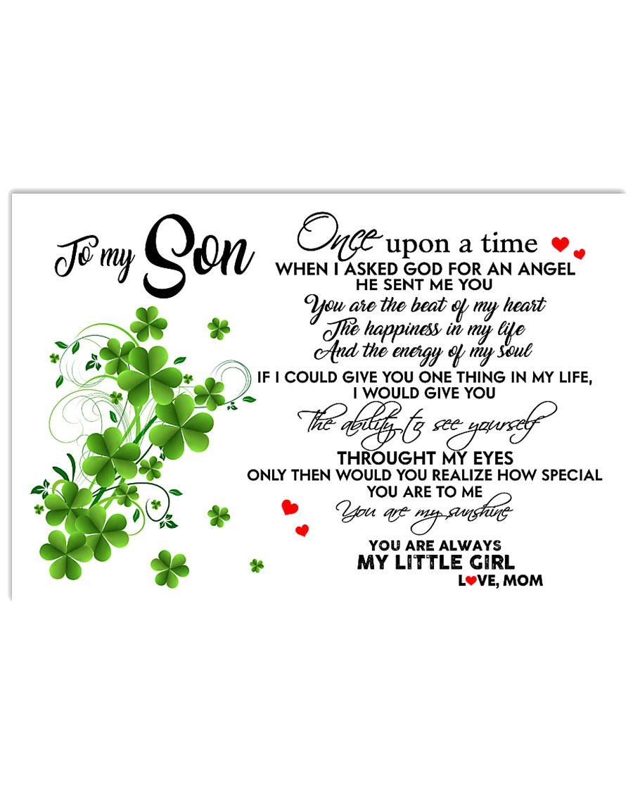 TO MY SON- ONE UPON A TIME POSTER 17x11 Poster