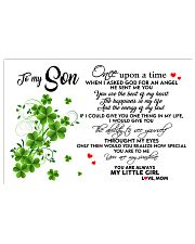 TO MY SON- ONE UPON A TIME POSTER Horizontal Poster tile