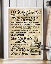 TO MY PRE-K TEACHER GIRL 16x24 Poster lifestyle-poster-4