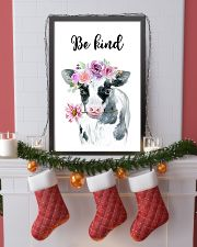 COW BE KIND POSTER 11x17 Poster lifestyle-holiday-poster-4