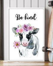 COW BE KIND POSTER 11x17 Poster lifestyle-poster-4