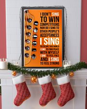 1- ELECTRIC GUITAR - I DON'T SING TO WIN  11x17 Poster lifestyle-holiday-poster-4
