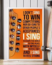 1- ELECTRIC GUITAR - I DON'T SING TO WIN  11x17 Poster lifestyle-poster-4