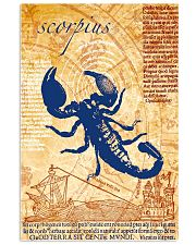 002 Scorpio Zodiac medical astrology Poster STAR 11x17 Poster front