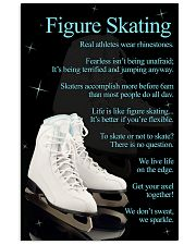 Figure Skating White Poster 16x24 Poster front