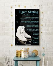 Figure Skating White Poster 16x24 Poster lifestyle-holiday-poster-3