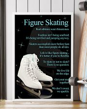 Figure Skating White Poster 16x24 Poster lifestyle-poster-4