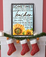 SOMETIMES IT ONLY TAKES A SINGLE SPECIAL EDUCATION 24x36 Poster lifestyle-holiday-poster-4