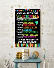 WHEN YOU ENTER THIS CLASSROOM POSTER 11x17 Poster lifestyle-holiday-poster-3