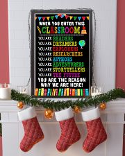 WHEN YOU ENTER THIS CLASSROOM POSTER 11x17 Poster lifestyle-holiday-poster-4