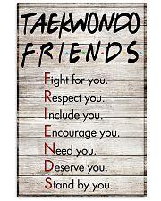 TAEKWONDO FRIENDS - POSTER 11x17 Poster front