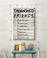 TAEKWONDO FRIENDS - POSTER 11x17 Poster lifestyle-holiday-poster-3