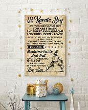 4 TO MY Karate Boy - Mom 16x24 Poster lifestyle-holiday-poster-3