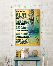 Swimming - Never Regret A Day Poster SKY 11x17 Poster lifestyle-holiday-poster-3