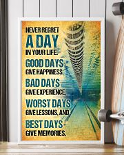 Swimming - Never Regret A Day Poster SKY 11x17 Poster lifestyle-poster-4
