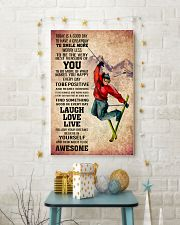 SKIING - TODAY IS A GOOD DAY POSTER 11x17 Poster lifestyle-holiday-poster-3