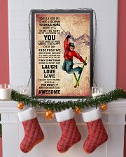 SKIING - TODAY IS A GOOD DAY POSTER 11x17 Poster lifestyle-holiday-poster-4